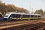 """Alstom 1001416-012 - erixx """"648 481"""" 21.11.2011 - Celle, Bahnhof NordNahne Johannsen"""