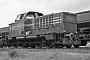 """MaK 1000015 - OHE """"100032"""" 13.07.1984 - Soltau, Bahnbetriebswerk Soltau SüdDietrich Bothe"""