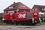 "MaK 1000597 - OHE ""160075"" 23.01.2008 - Bleckede, BahnhofMartin Ketelhake"