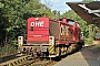 "MaK 1000597 - OHE Cargo ""160075"" 19.08.2014 - Bomlitz, BahnhofBernd Muralt"