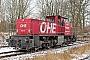 """MaK 1000814 - OHE Cargo """"150003"""" 25.01.2015 - SoltauAndreas Kriegisch"""