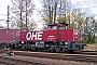 """MaK 1000822 - OHE """"150004"""" 14.04.2011 - Hamburg, Alte Süderelbe, RangierbahnhofAndreas Kriegisch"""