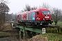 """Siemens 21155 - OHE """"270081"""" 18.02.2008 Wunstorf,Auebrücke [D] Martin Ketelhake"""