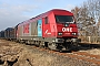 """Siemens 21155 - OHE """"270081"""" 20.02.2011 Gorgast [D] Carsten Niehoff"""