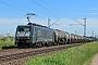 """Siemens 21514 - OHE Cargo """"ES 64 F4-110"""" 20.05.2014 - Münster bei DieburgKurt Sattig"""